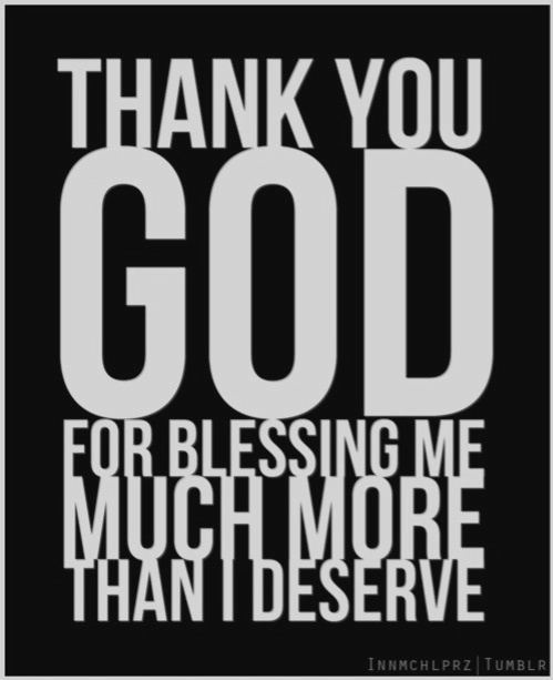 I Thank God Everyday