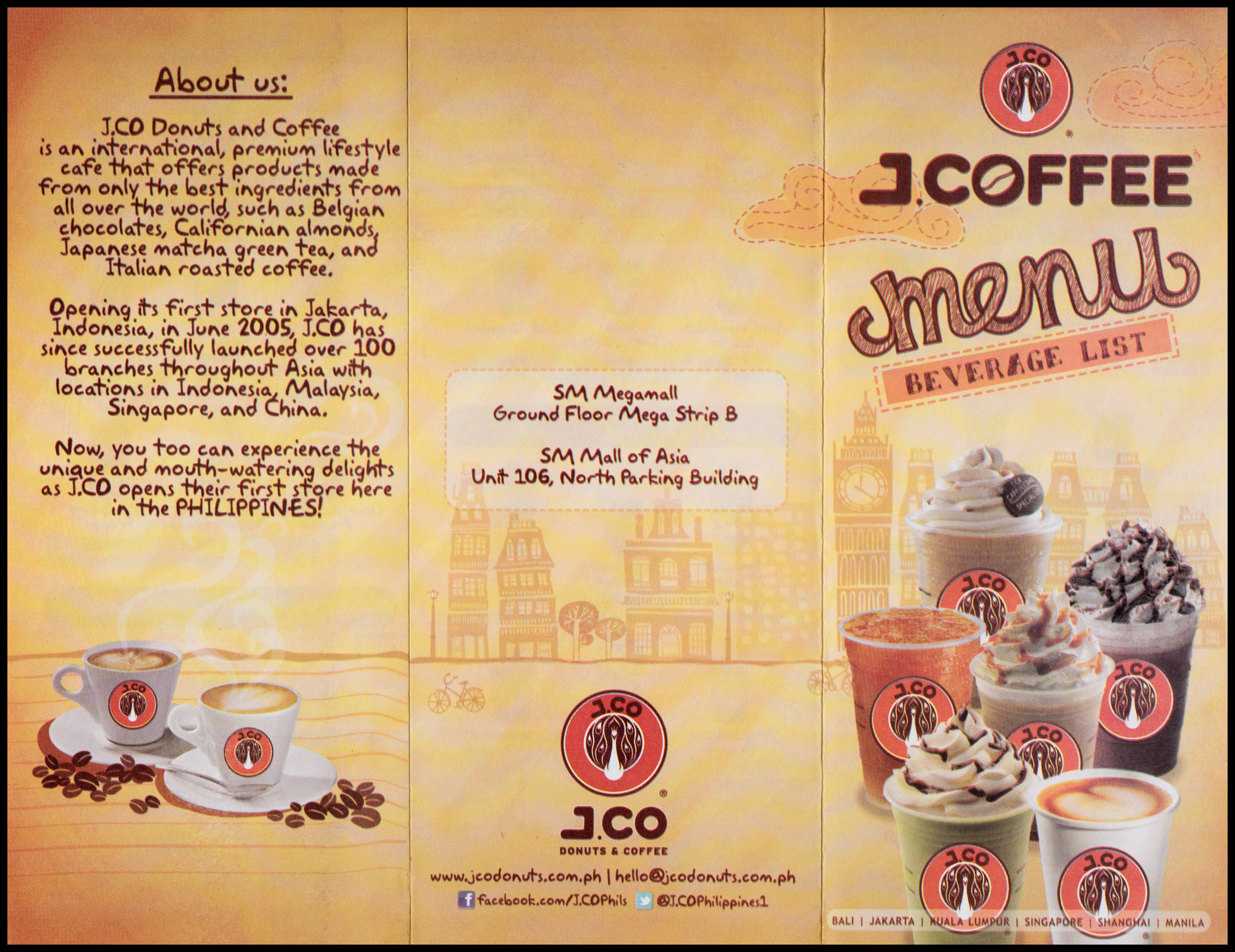 j co donuts coffee history The latest tweets from jco donuts & coffee (@jcohongkong) j co donuts &  coffee is a lifestyle cafe retailer in asia branches: -wan chai -tseung kwan o.