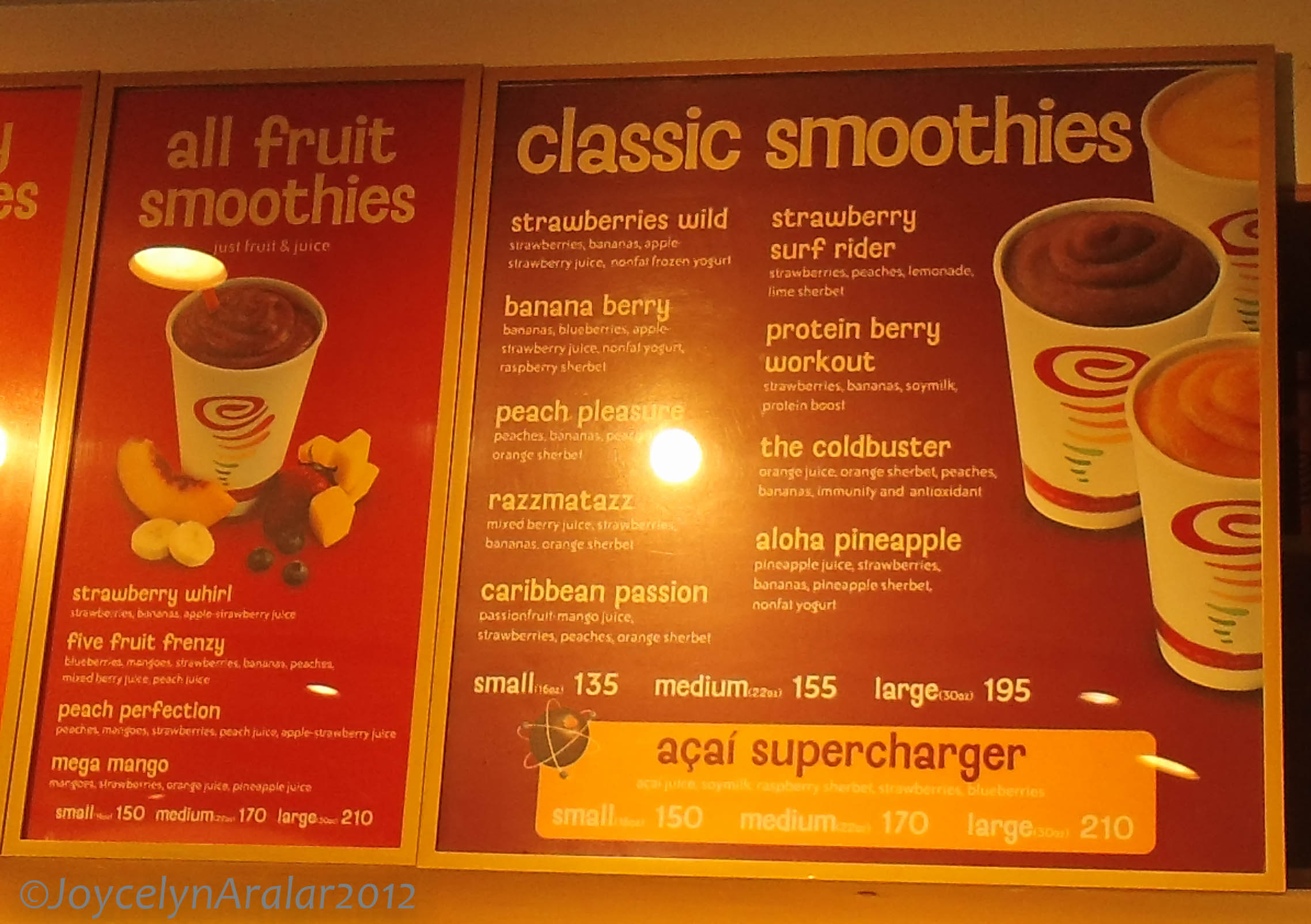 The Jamba Juice prices usually make the chain's customers like they hit the jackpot! They can, after all, enjoy healthy juices and smoothies at reasonable prices, thus, contributing to their health plans.