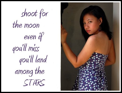 Starry dress of mine
