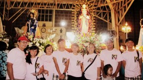 December. First time that we joined Our Lady of Guadalupe in a procession. Thank you for the blessings God.