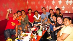 September. Videoke time with Team Nike.