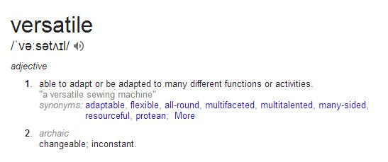 Versatile from Google